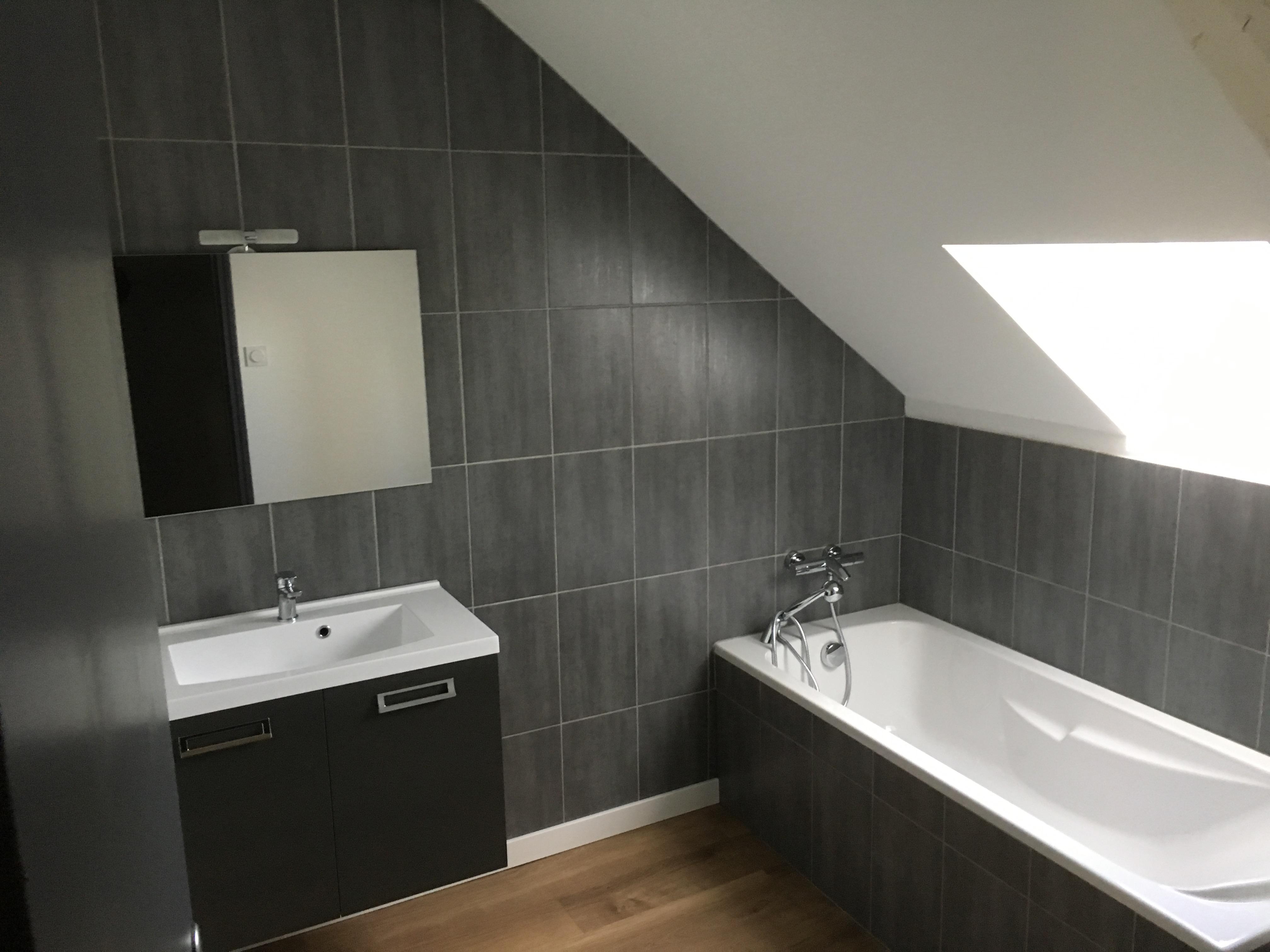 Entreprise Christophe Courric à Concarneau : salle de bains